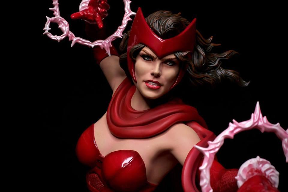 Premium Collectibles : Scarlet Witch** 5hnkpr