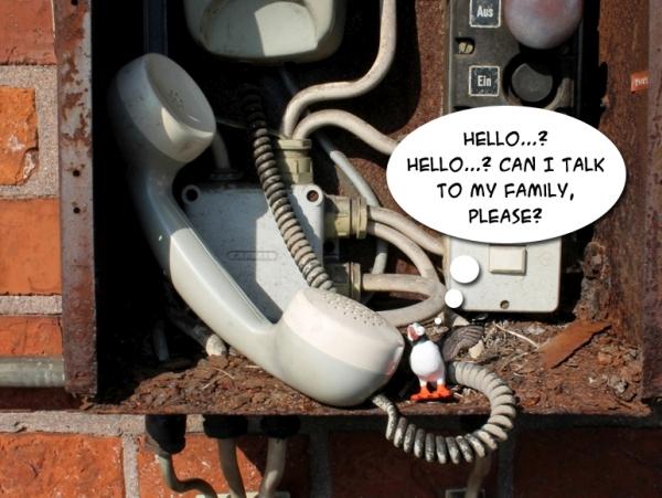 Alistair phone home