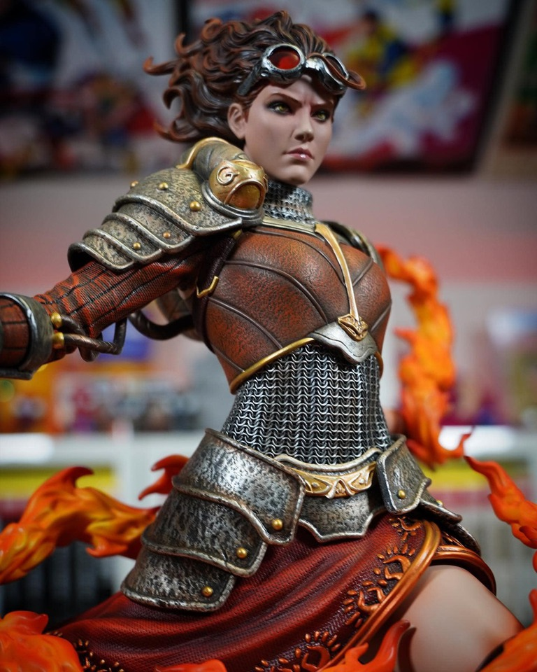 Premium Collectibles : MTG - Chandra Nalaar 1/4 Statue 5r8jpl
