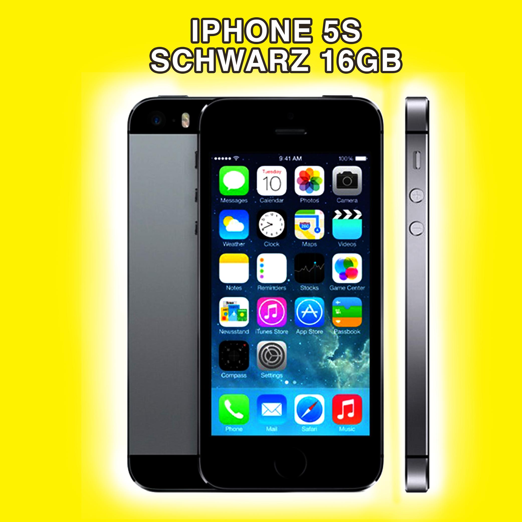 apple iphone 5s 16 oder 32 gb spacegrau silber gold. Black Bedroom Furniture Sets. Home Design Ideas