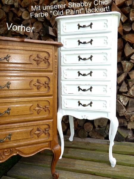 shabby chic m belfarbe m bel lack wei kreidefarbe holzlack landhaus vintage ebay. Black Bedroom Furniture Sets. Home Design Ideas