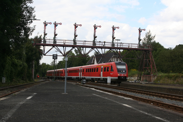 612 014-1 Einfahrt Bad Harzburg