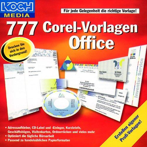 : Koch/Media - 777 Corel Vorlagen Office