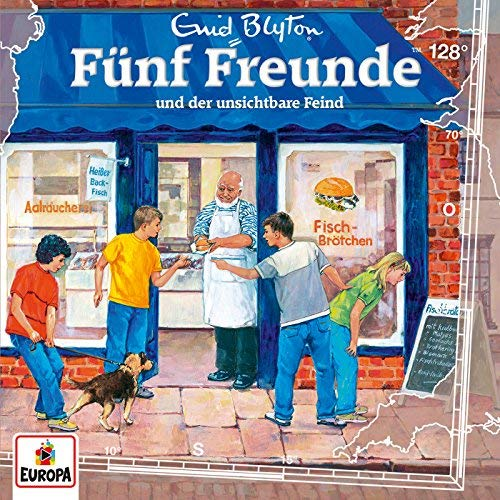 Fünf Freunde - Folge 128: und der Unsichtbare Feind (2018)