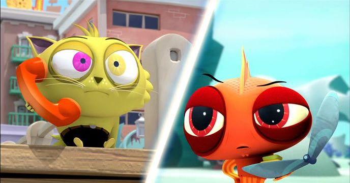 Balık ile Kraker'in Maceraları Ekran Görüntüsü 2