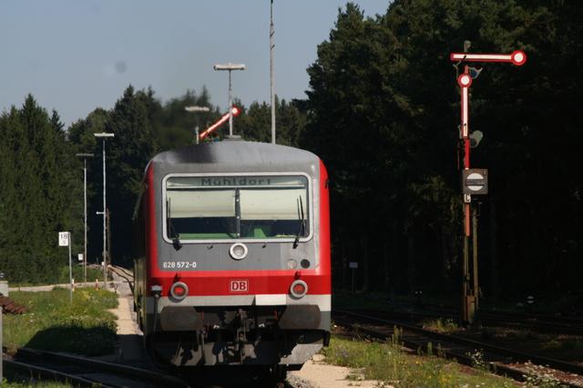 628 572-0 Aufahrt Kastl(Oberbay)