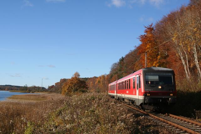 628 646-2 Lietzow (Rügen) am Jasmunder Bodden
