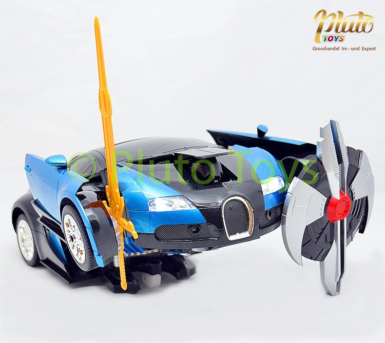 Rc transformers spielzeug transformierbar bugatti