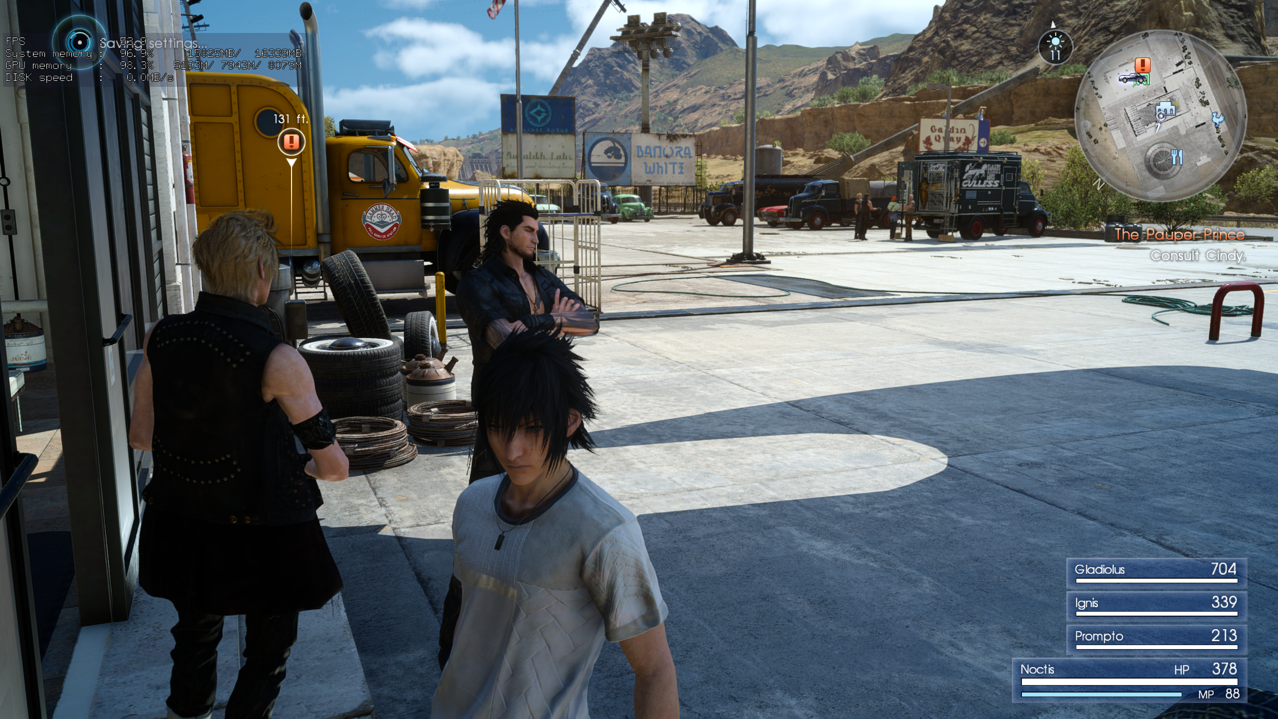 Final Fantasy XV Windows Edition PC performance thread | ResetEra