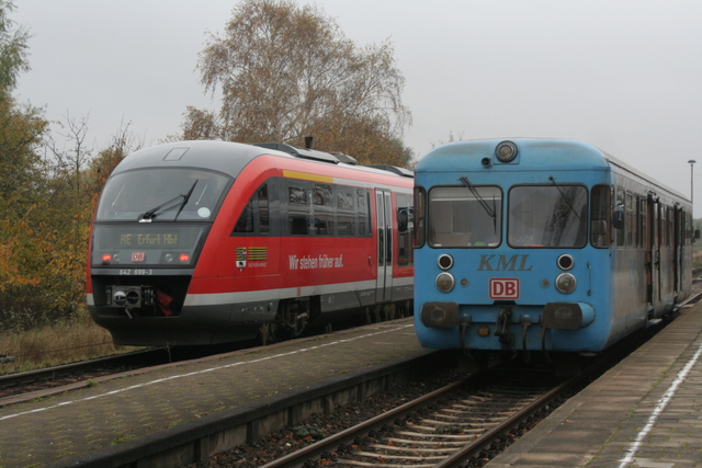 642 699-3 + VT 408 Klostermansfeld