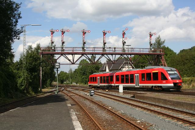 648 064-4 Einfahrt Bad Harzuburg