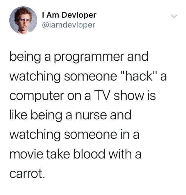 Hacker im Fernsehen