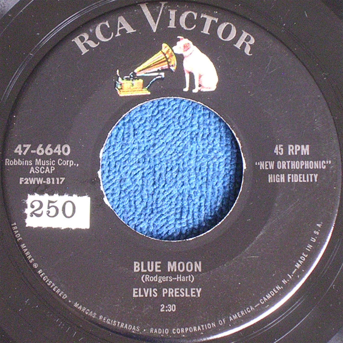 Blue Moon / Just Because 6640armrcr