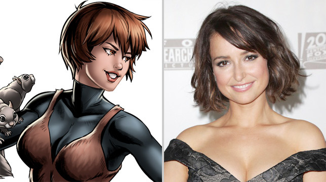 New Warriors: Milana Vayntrub è Squirrel Girl nella serie Marvel
