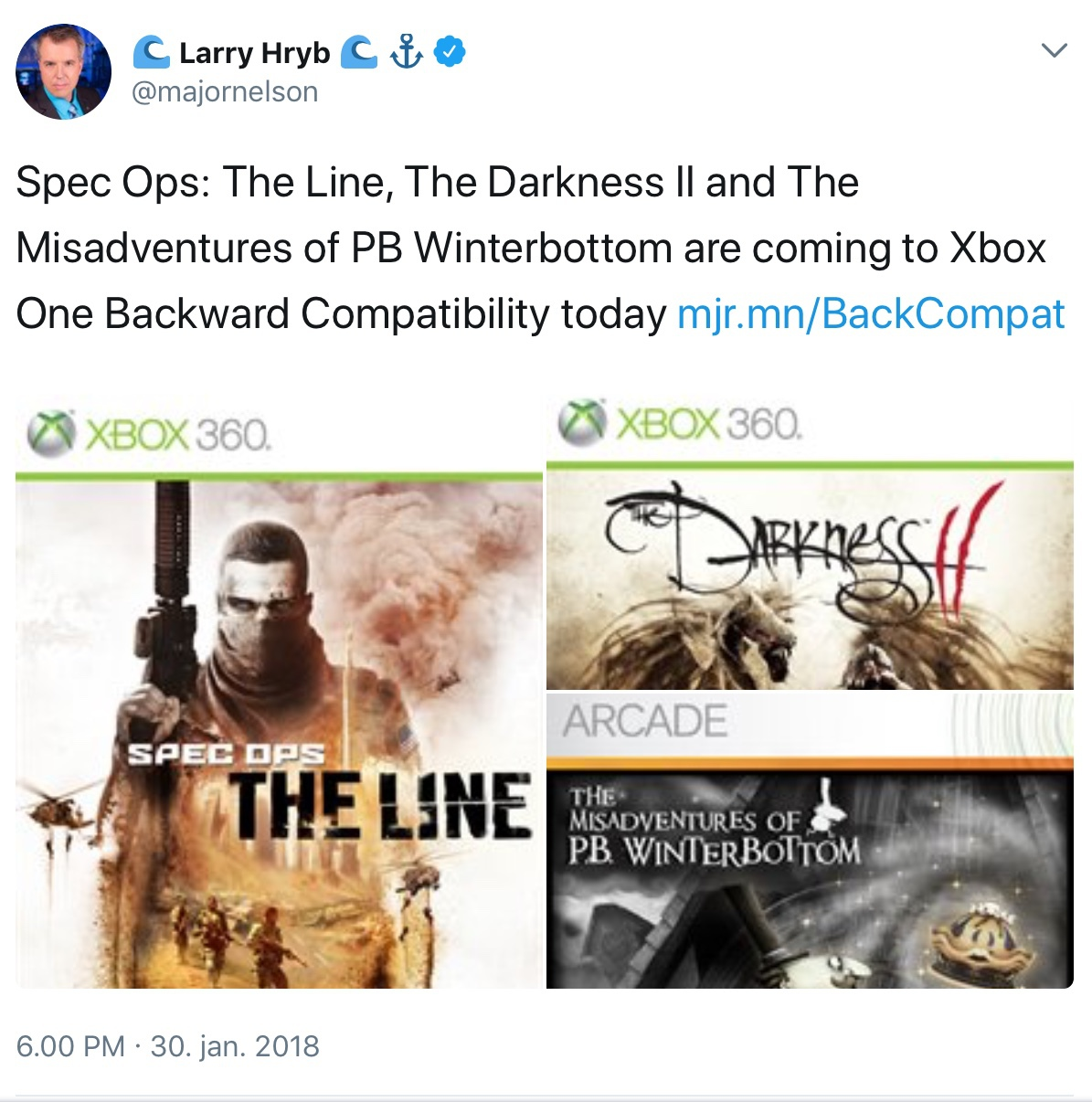 Xbox One bagudkompatibilitet