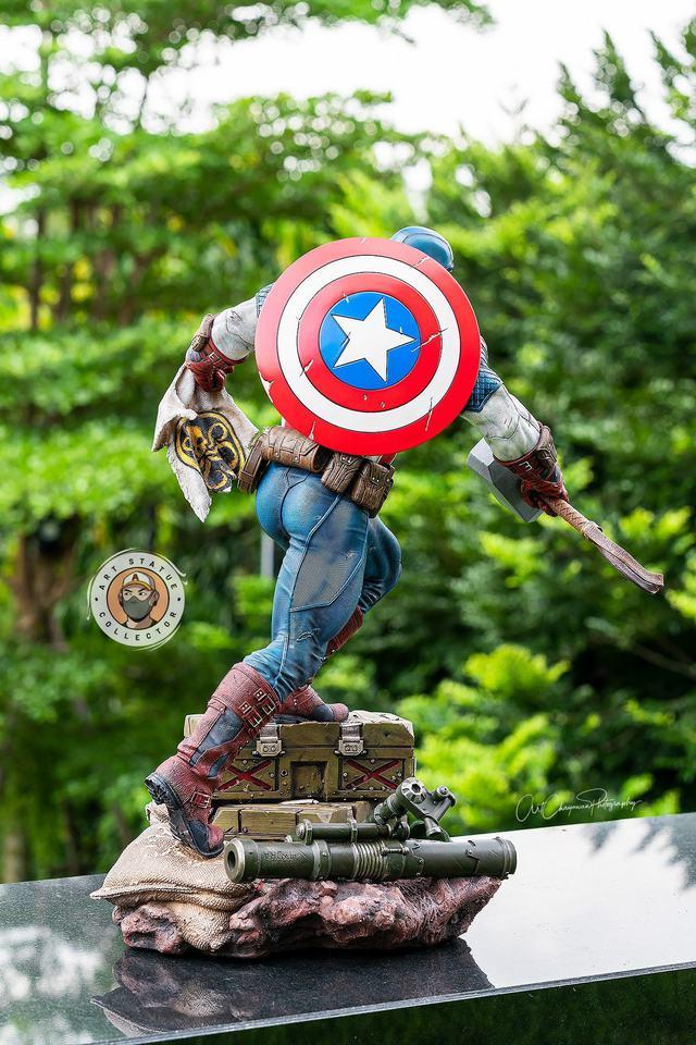 Premium Collectibles : Captain America Ultimate 1/4 Statue 6e8j4v