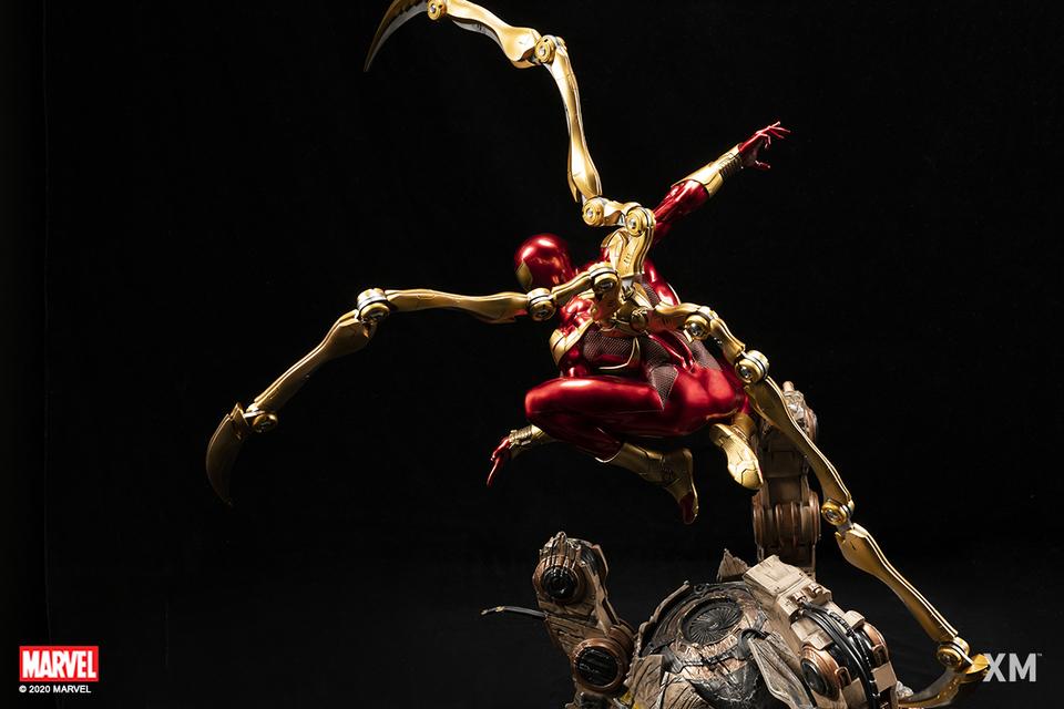 Premium Collectibles : Iron-spiderman** 6erke8