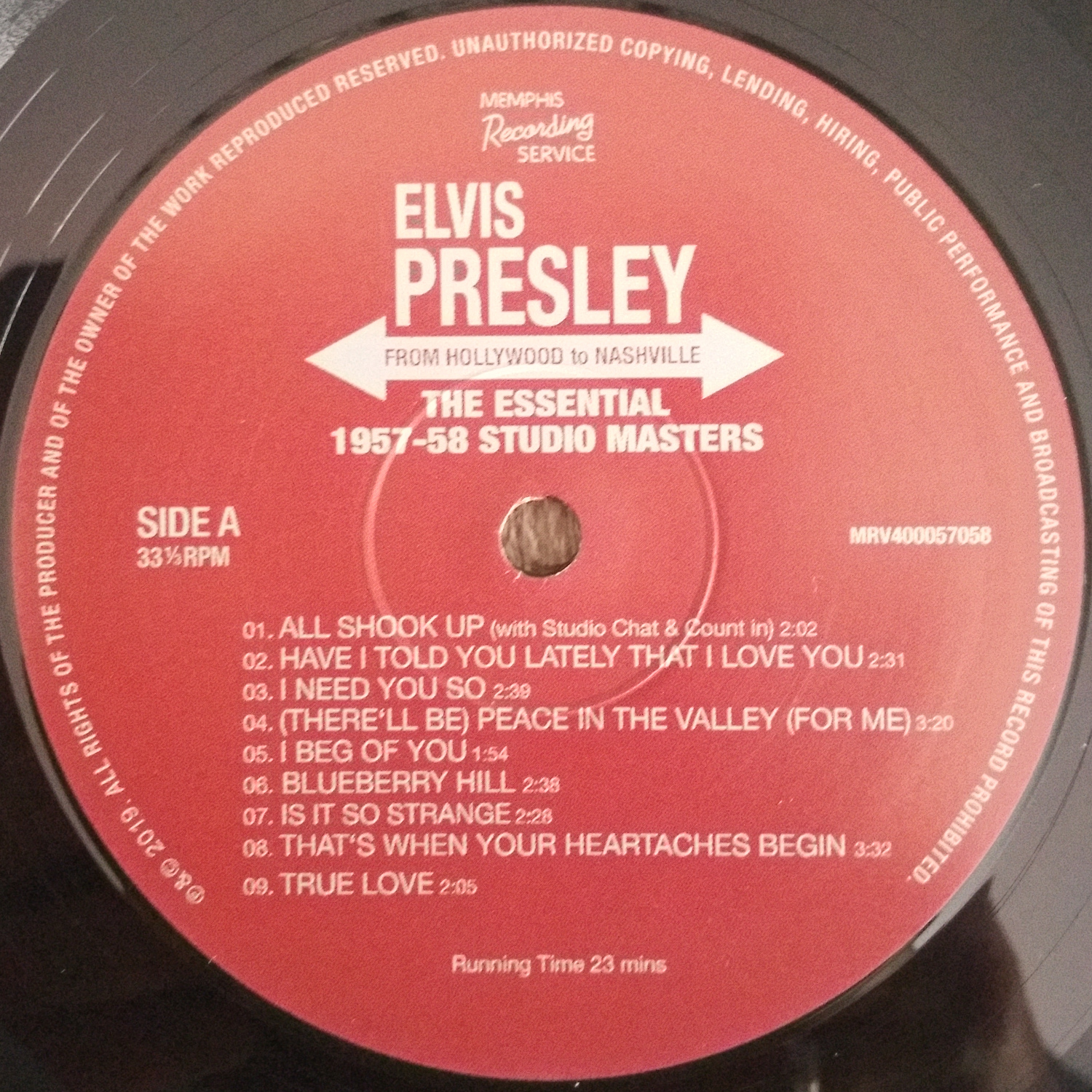FROM HOLLYWOOD TO NASHVILLE (The Essential 1957-58 Studio Masters) 6exjty