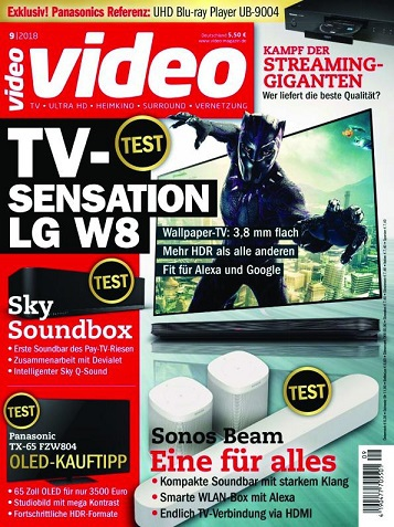 Video (Homevision)  Magazin September No 09 2018