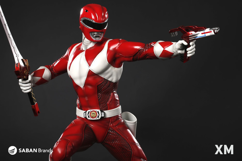 Premium Collectibles : Power Ranger Red 6qqrsf