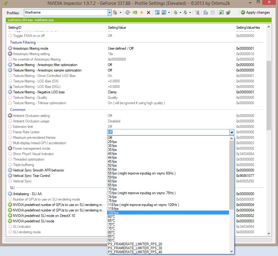 Fps Limit Option - PC Bugs - Warframe Forums