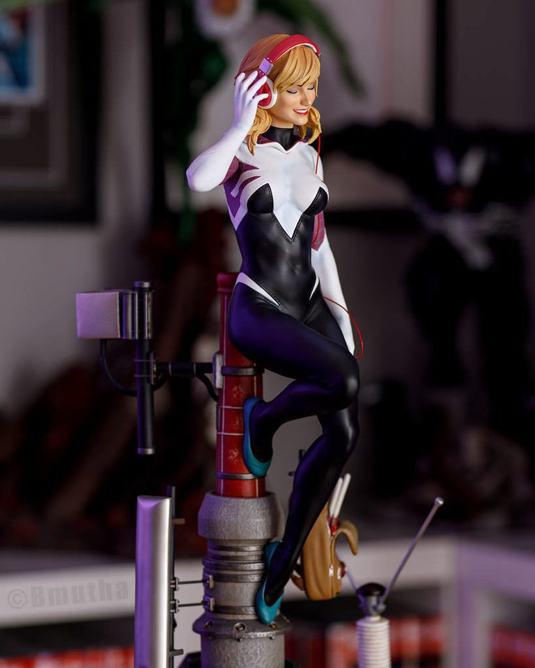 Premium Collectibles : Spider-Gwen 6uwrne