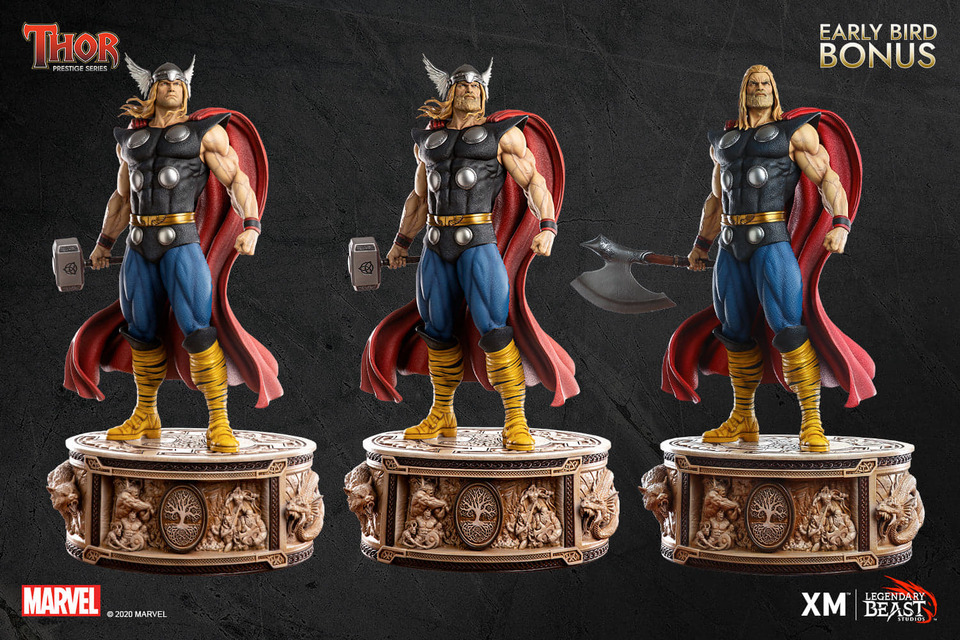 Premium Collectibles : Thor 1/3 70bkdq