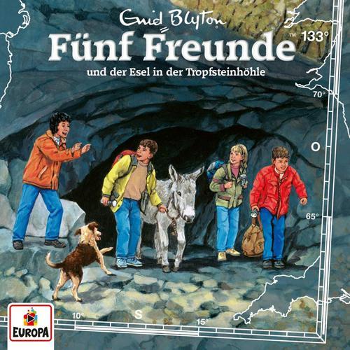 Fünf Freunde - Folge 133: und der Esel in der Tropfsteinhöh (2019)