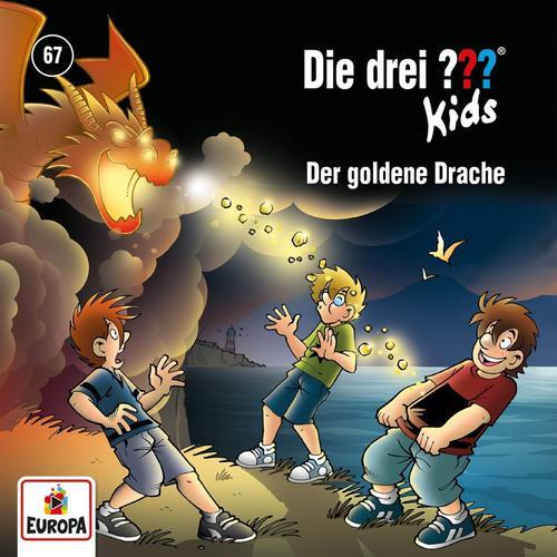 Die Drei Fragezeichen Kids - Folge 67: Der Goldene Drache (2018)