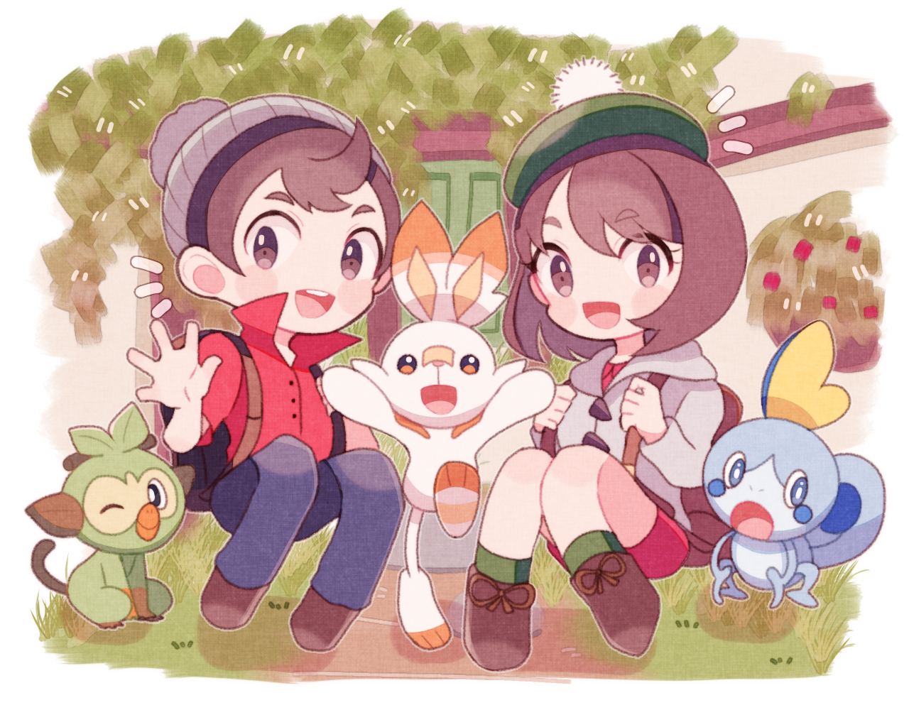 Pokemon Sword And Shield Has Developed Quite The Fanart Following