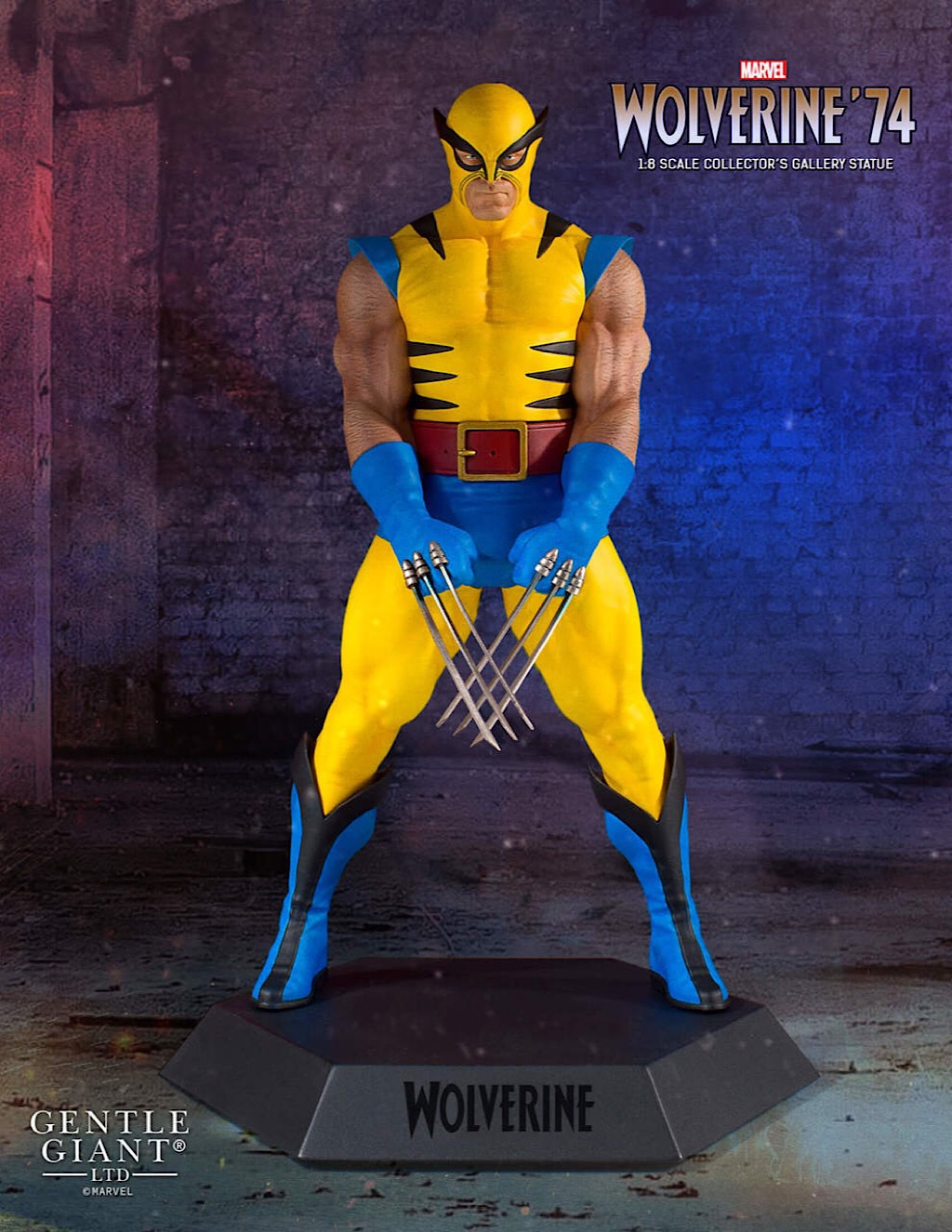 Wolverine 92 Marvel Yellow Costume Collector/'s Gallery Statue NEW