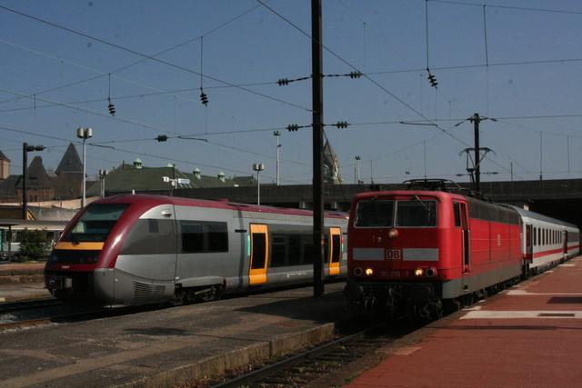73917 + 181 219-7 Metz-Ville