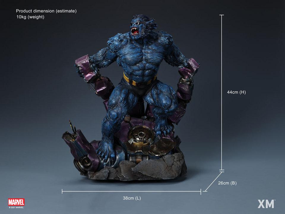 Premium Collectibles : Beast 1/4 Statue 73nk05