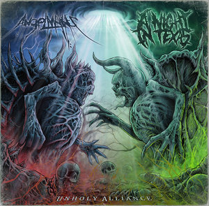 A Night In Texas & AngelMaker - Unholy Alliance [Split] (2016)