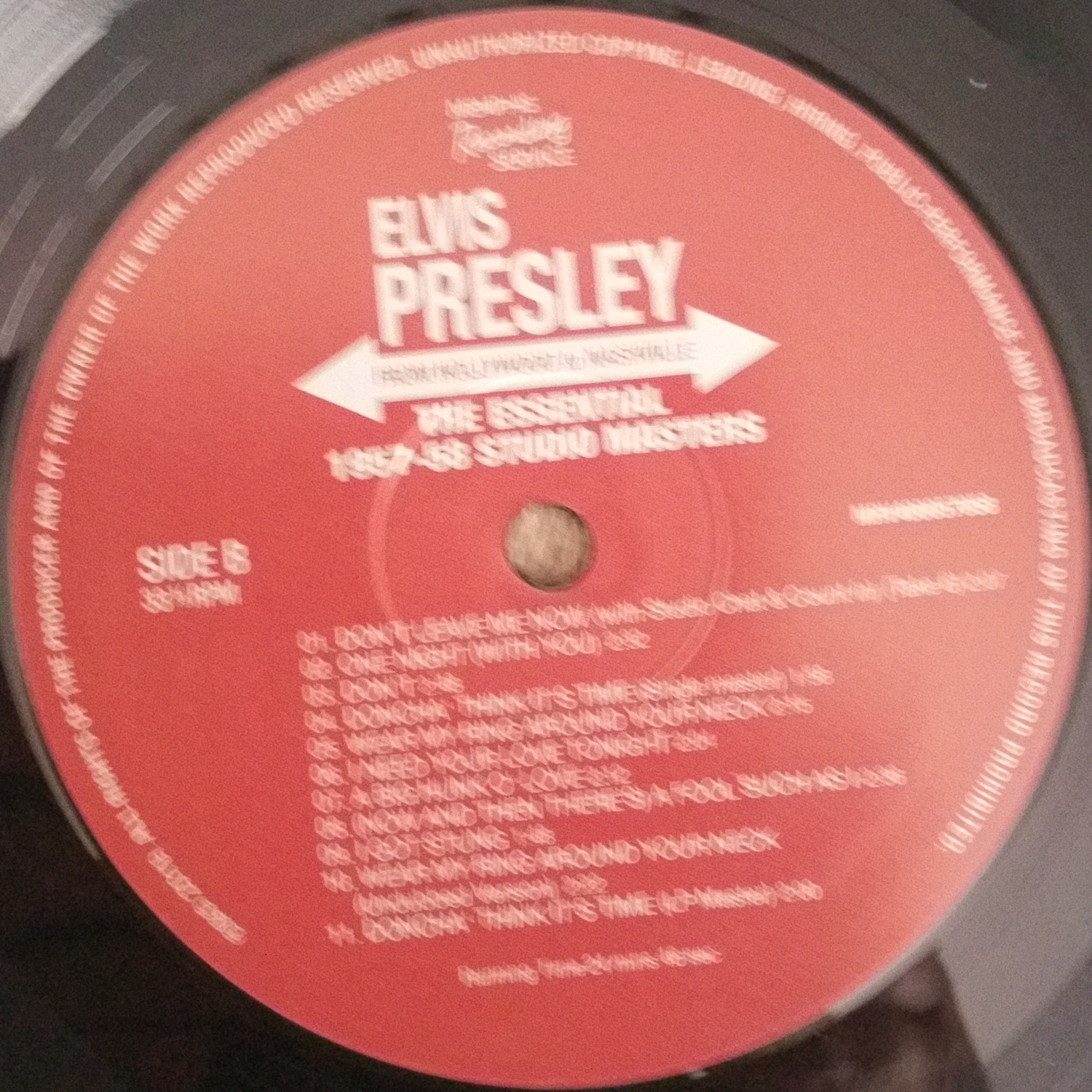 FROM HOLLYWOOD TO NASHVILLE (The Essential 1957-58 Studio Masters) 74gkgo