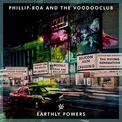 Phillip Boa & The Voodooclub - Earthly Powers (2018)