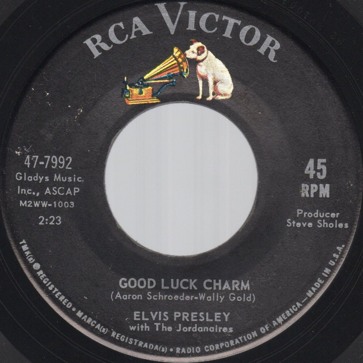 Good Luck Charm / Anything That's Part Of You 7992c1ssvt