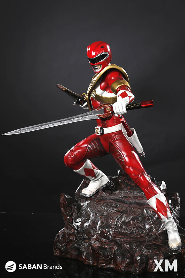 Premium Collectibles : Power Ranger Red 7a68rnb
