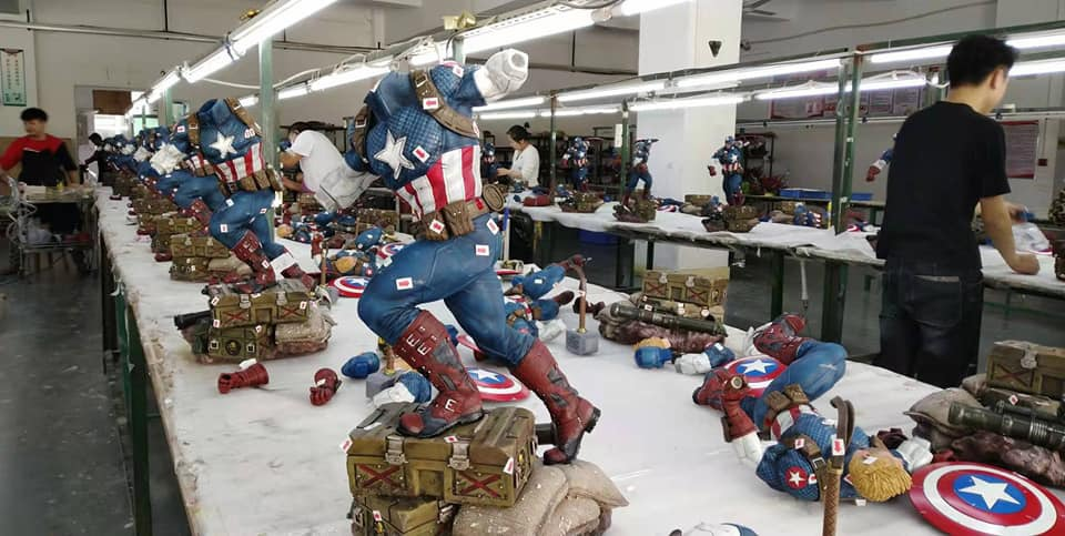 Premium Collectibles : Captain America Ultimate 1/4 Statue 7gnjso
