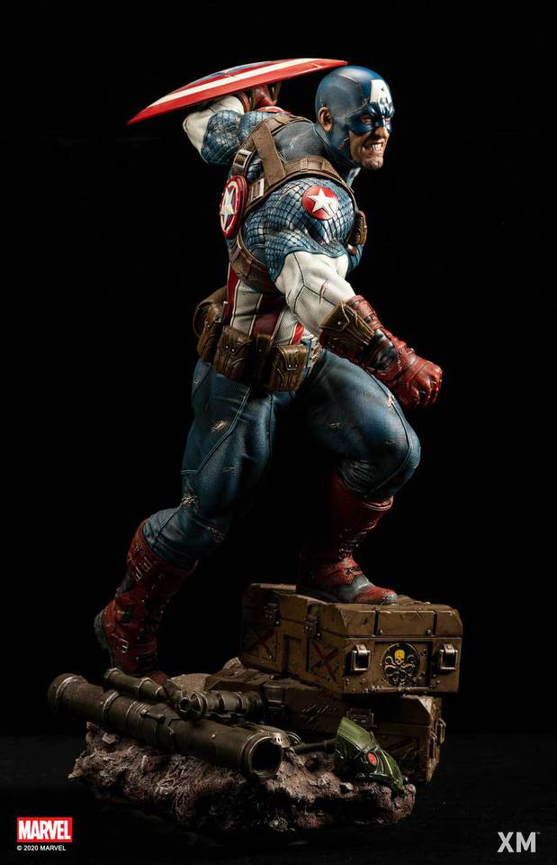 Premium Collectibles : Captain America Ultimate 1/4 Statue 7n3jvb