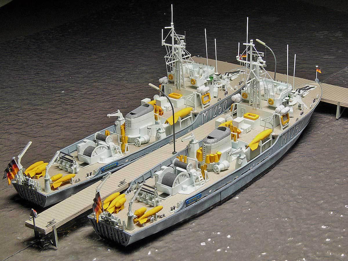 Démineur Mercure classe de la Federal Navy 1: 250 80-indienstdhjqi