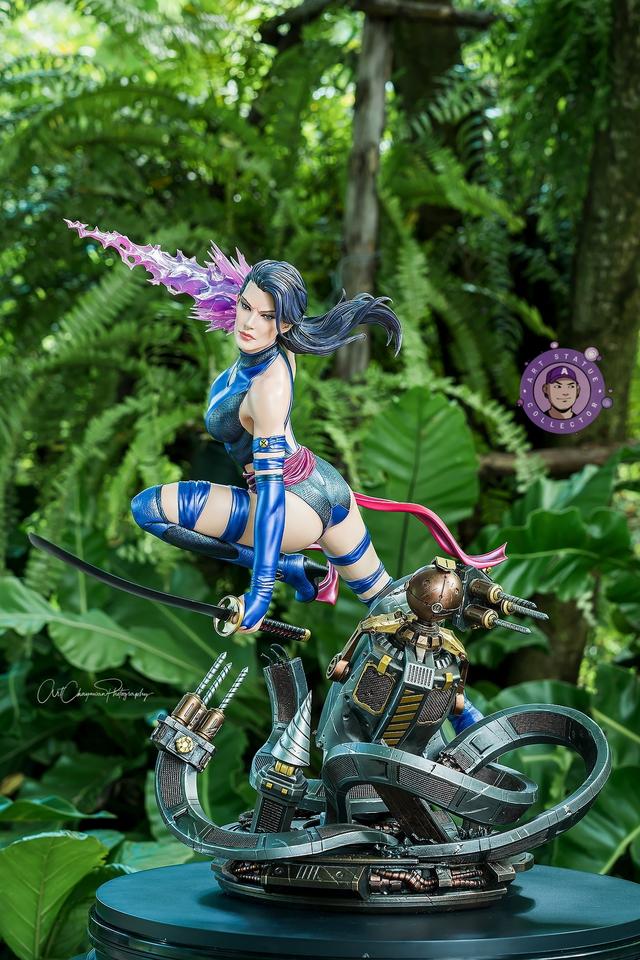 Premium Collectibles : Psylocke 1/4 Statue 80qkh7