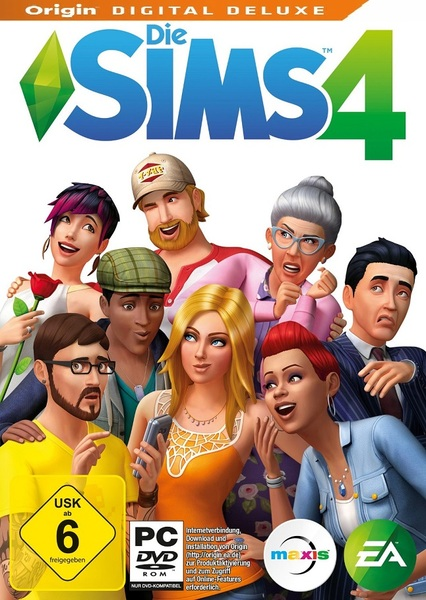 The Sims 4 Digital Deluxe Edition Incl. DLCs and Update 10 - MULTi2