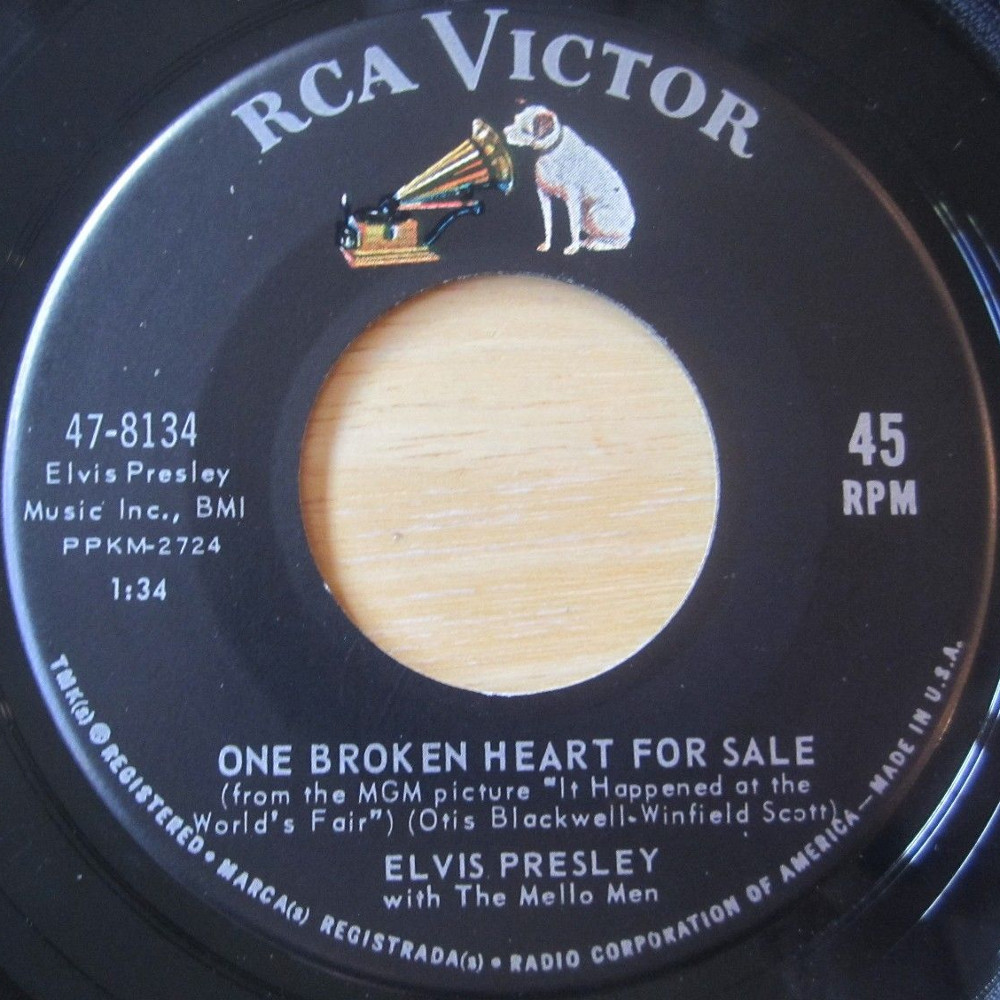 One Broken Heart For Sale / They Remind Me Too Much Of You 8134annun9
