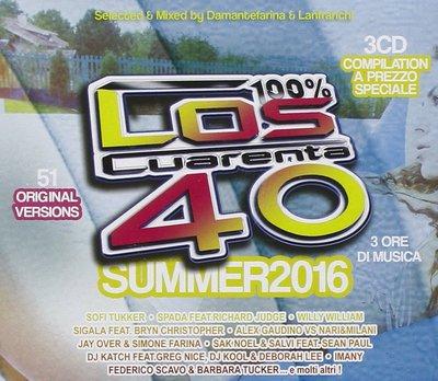 Los Cuarenta Summer 2016 (2016) .mp3 - 320kbps