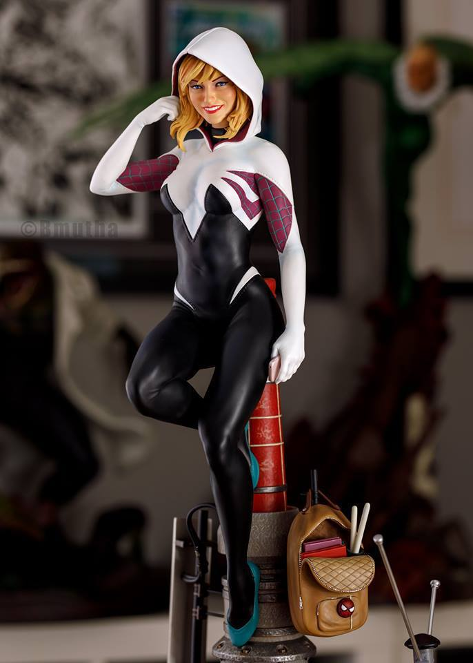 Premium Collectibles : Spider-Gwen 81crm2