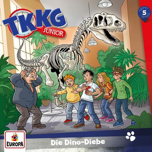 TKKG Junior - Folge 5: Die Dino-Diebe (2019)