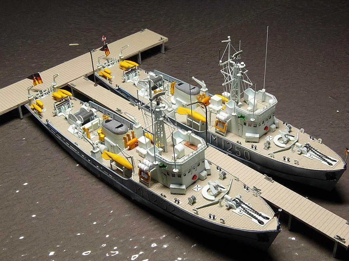 Démineur Mercure classe de la Federal Navy 1: 250 82-indienst2vjp2