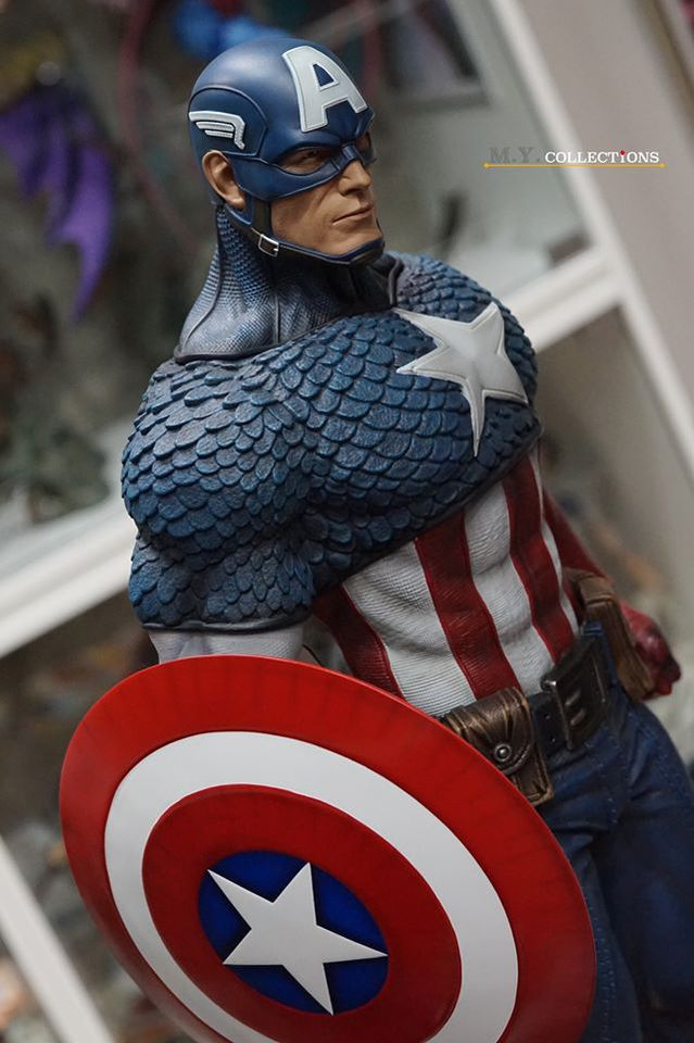 Premium Collectibles : Captain America 1/3 83611642_400974571576fjj8r