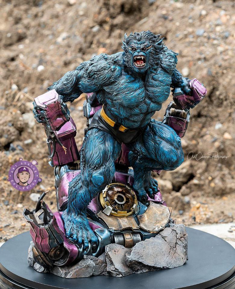 Premium Collectibles : Beast 1/4 Statue 878jno